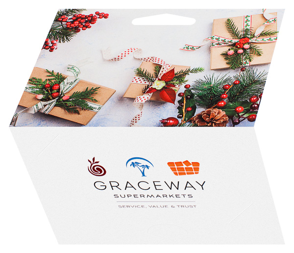 Graceway Supermarkets (Back and Front Open View)