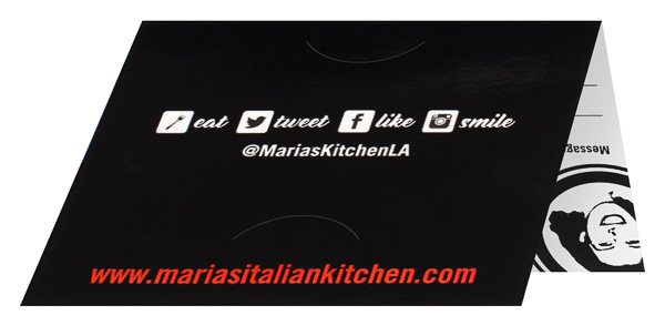 Maria's Italian Kitchen (Back Open View)
