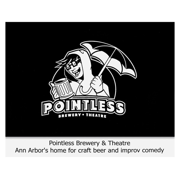 Pointless Brewery & Theatre (Front View)