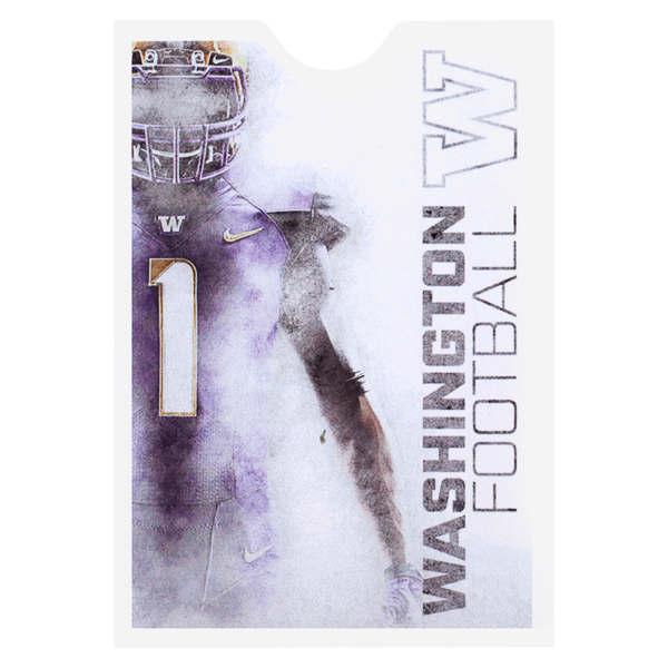 University of Washington Football (Front View)