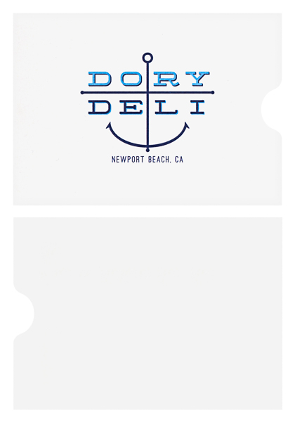 Dory Deli (Stack of Two Front and Back View)