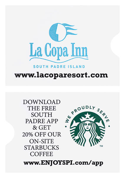 La Copa Inn (Stack of Two Front and Back View)