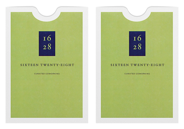Sixteen Twenty-Eight (Stack of Two Front and Back View)