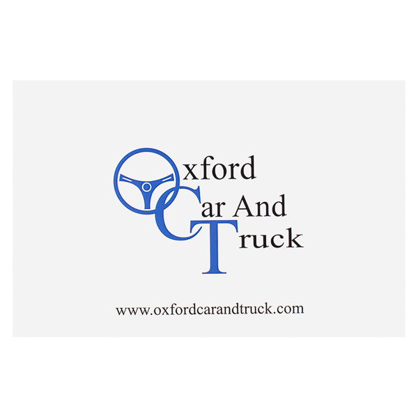 Oxford Car and Truck (Front View)