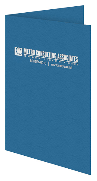 Metro Consulting Associates (Front Open View)