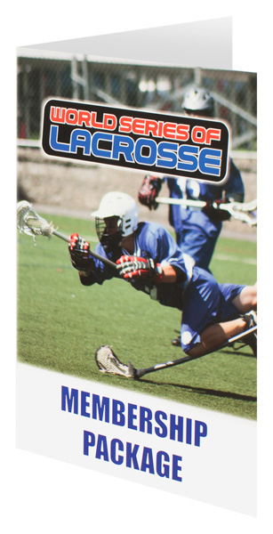 World Series of Lacrosse (Front Open View)