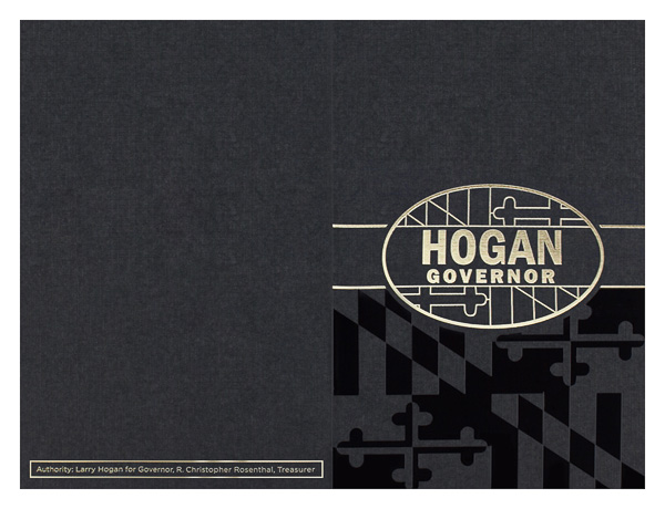 Larry Hogan for Governor (Back Flat View)