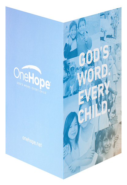 OneHope (Back and Front Open View)