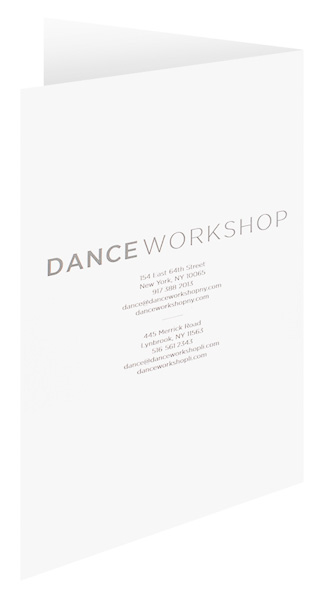 Dance Workshop (Back Open View)