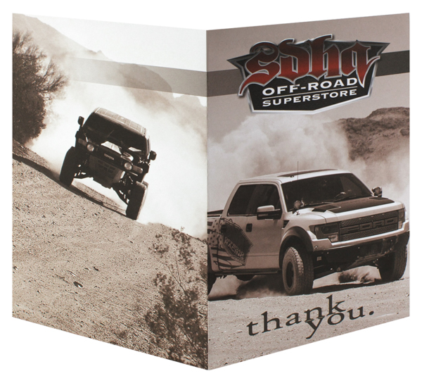 SDHQ Off-Road Superstore (Front and Back Open View)