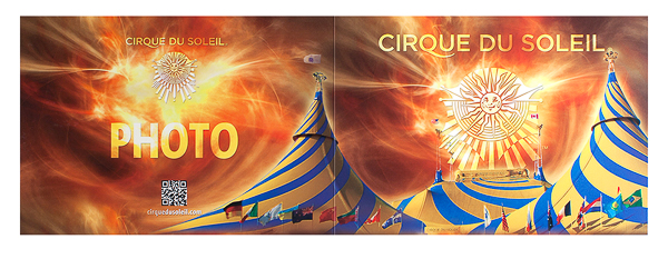 Cirque du Soleil (Front and Back Flat View)