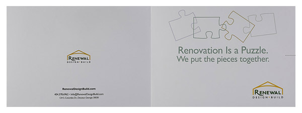 Renewal Design-Build (Front and Back Flat View)