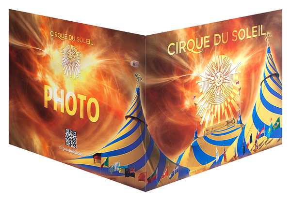 Cirque du Soleil (Front and Back Open View)