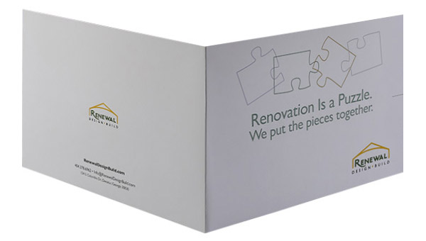 Renewal Design-Build (Front and Back Open View)
