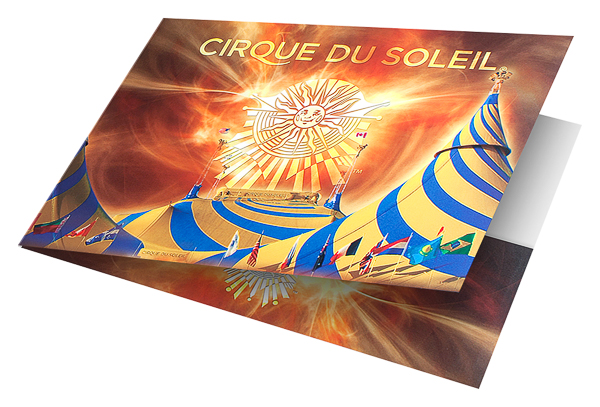 Cirque du Soleil (Front Angled Open View)
