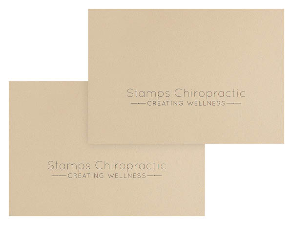 Stamps Chiropractic (Stack of Two+ View)