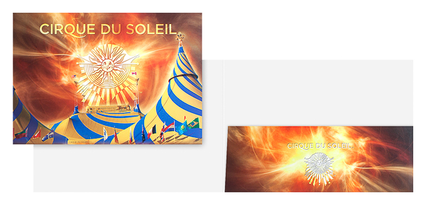 Cirque du Soleil (Stack of Two Front and Inside View)