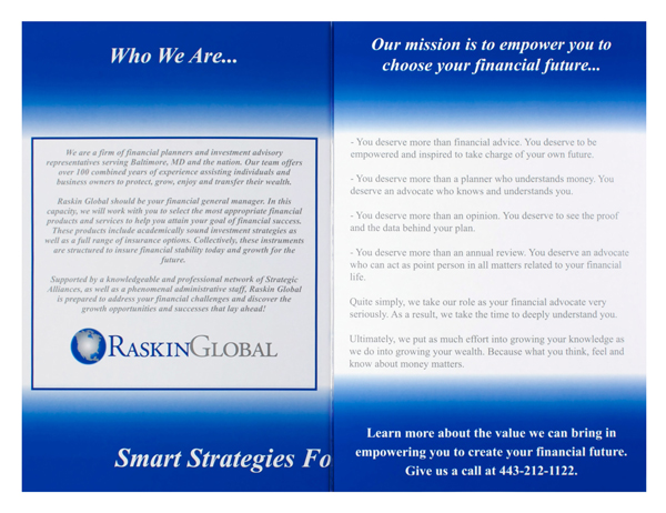 Raskin Global (Custom One View)