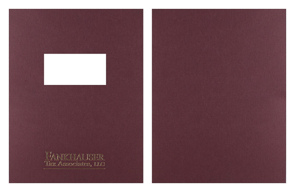 Fankhauser Tax Associates, LLC (Stack of Two Front and Back View)
