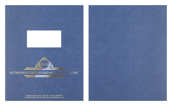 H & H Retirement Design and Management, Inc. (Stack of Two Front and Back View)