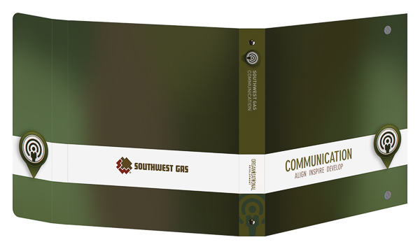 Southwest Gas Corporation (Front and Back Open View)