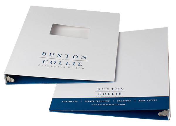 Buxton & Collie Attorneys at Law (Stack of Two Front and Back View)