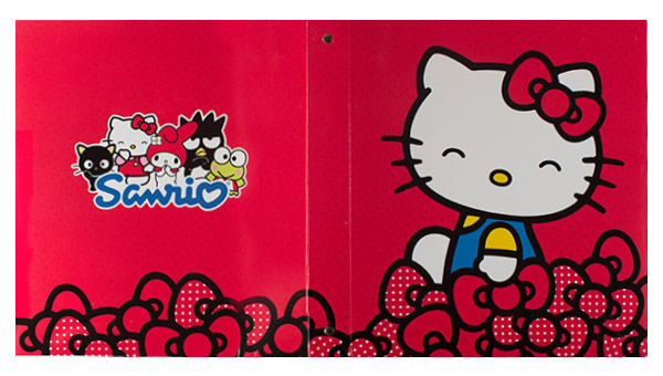 Sanrio (Front and Back Flat View)