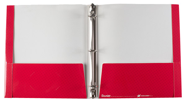 Custom Printed 2 Pocket Reinforced 3 Ring Binder