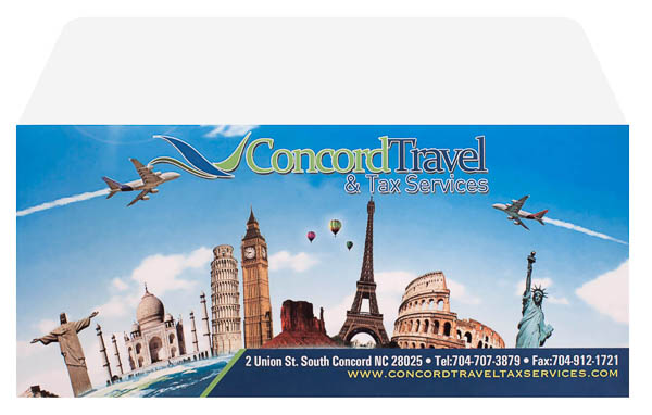Concord Travel & Tax Services (Back and Front Open View)