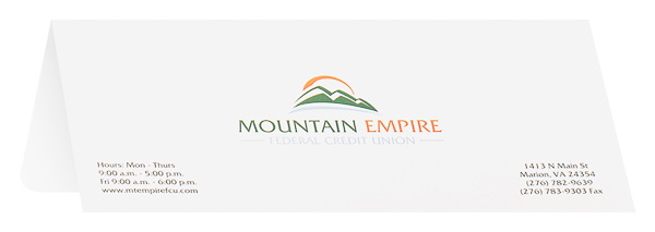 Mountain Empire Federal Credit Union (Back Open View)
