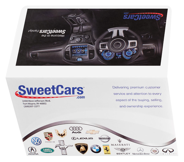 SweetCars, LLC (Back and Front Open View)