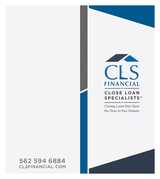 Close Loan Specialists Financial (Front and Back Flat View)