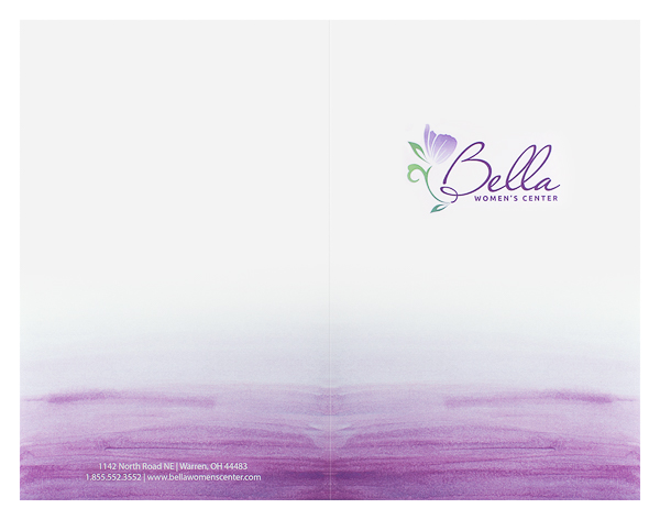 Bella Women's Center (Front and Back Flat View)