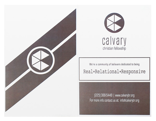 Calvary Christian Fellowship (Front and Back Flat View)