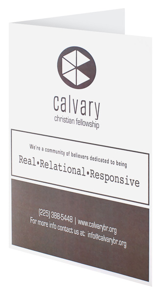 Calvary Christian Fellowship (Front Open View)
