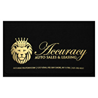 Branded Document Holders for Accuracy Auto Sales & Leasing
