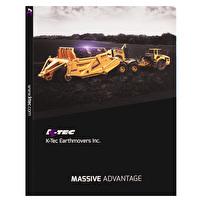 Expandable Folders Design for K-Tec Earthmovers, Inc.