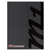 Branded Tri-Fold Folders for M1 Concourse