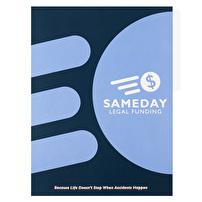 Tab Folders Printed for Sameday Legal Funding