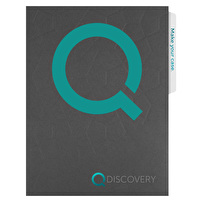 Printed Letter Size Folders for Qdiscovery