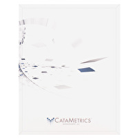 Branded Letter Size Folders for CataMetrics Management, LLC