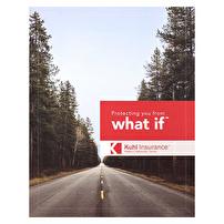 Promotional Expandable Folders for Kuhl Insurance