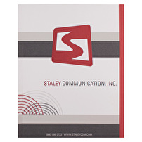 Personalized Expandable Folders for Staley Communication, Inc.