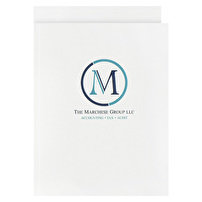 Personalized One-Piece Report Covers for The Marchese Group, LLC