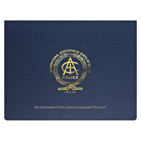 Certificate Folders Printed for International Association of Chiefs of Police
