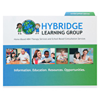 Printed Standard File Folders for Hybridge Learning Group