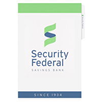Promotional Legal File Folders for Security Federal Savings Bank