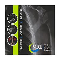 Branded CD/DVD Folders for Valley Regional Imaging