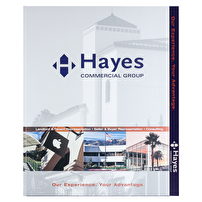 Personalized Expandable File Folders for Hayes Commercial Group