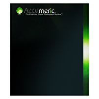 Branded Reinforced Folders for Accumeric